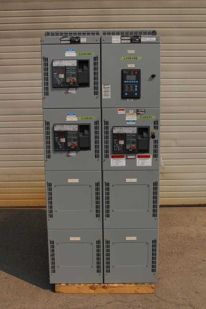 Cutler Hammer POW-R-M-S SWITCHBOARD 1600 Amp 480Y/277 Volt  Used Tested EOK