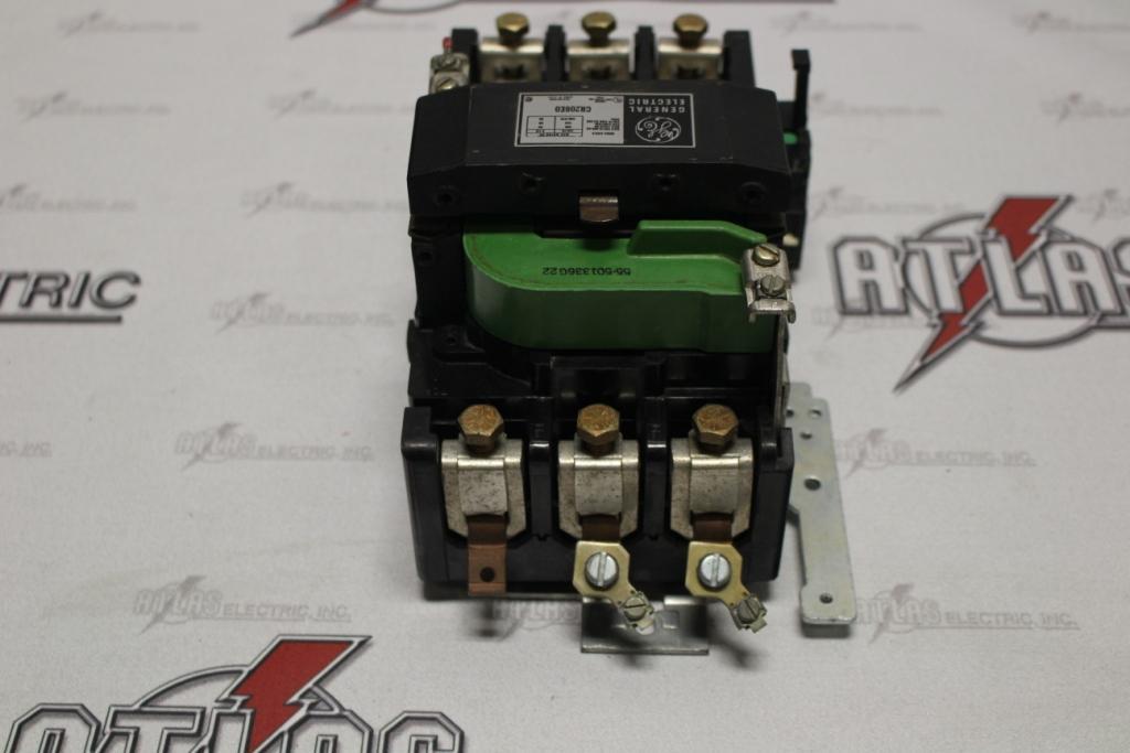 General Electric Size 3 FVNR Motor Starter Catalog Number CR206E0