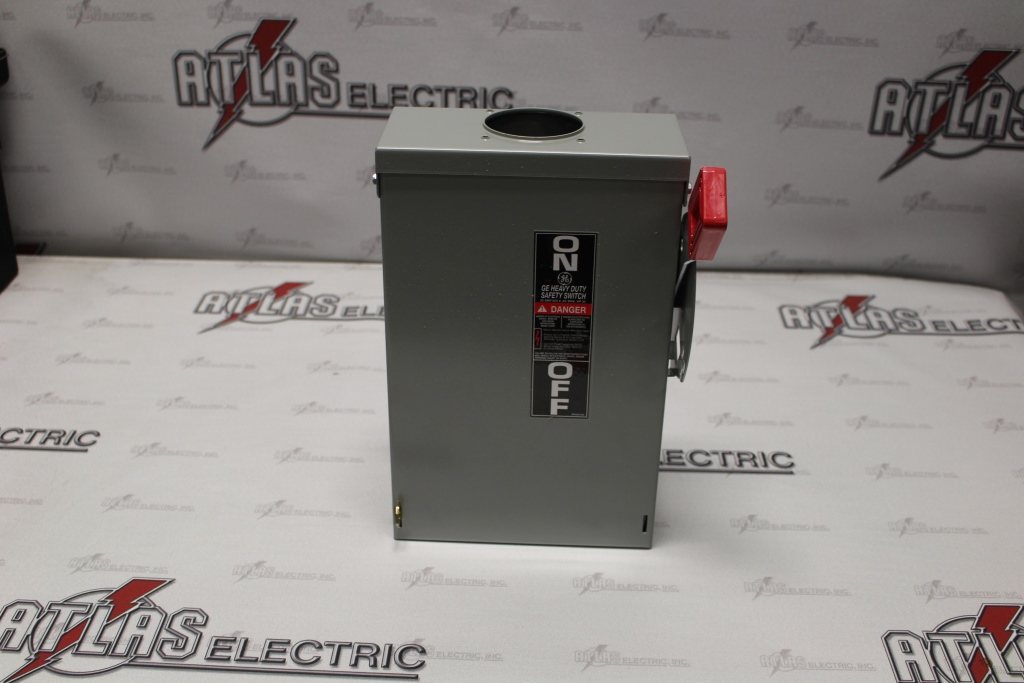 General Electric  30 Amp 3 Pole Non-Fusible Safety Switch TH3361R 600 Volt N-3R New