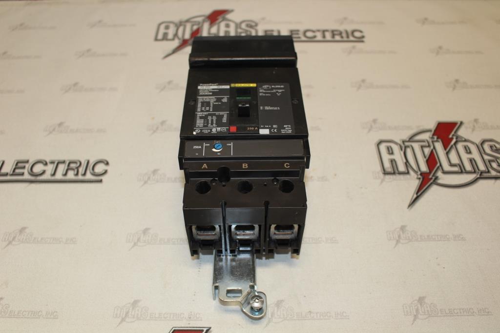 Square D JGA36250 Molded Case Circuit Breaker 250 Amp