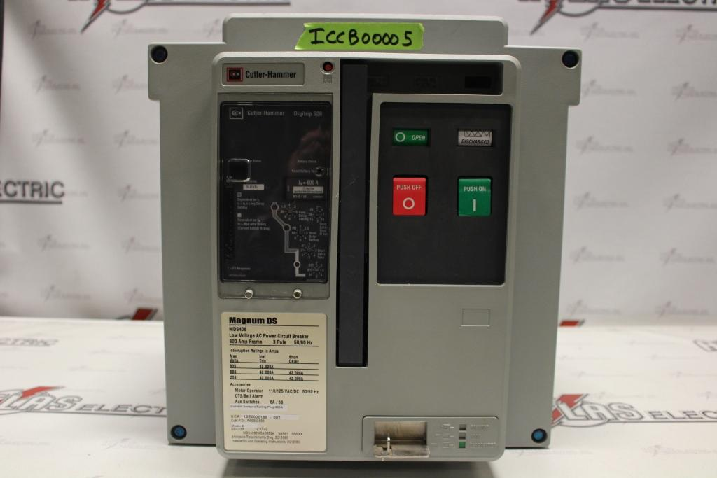 Cutler Hammer Insulated Case Circuit Breaker MDS4083WEA0652A Electric Operation 635 Volt