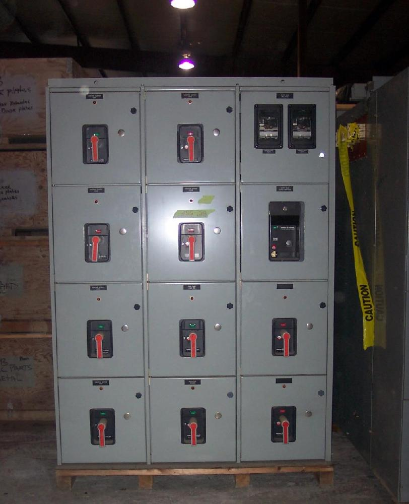 General Electric 1600 Amp AKD Metal Enclosed  Switchgear 480 Volt  Used Tested EOK