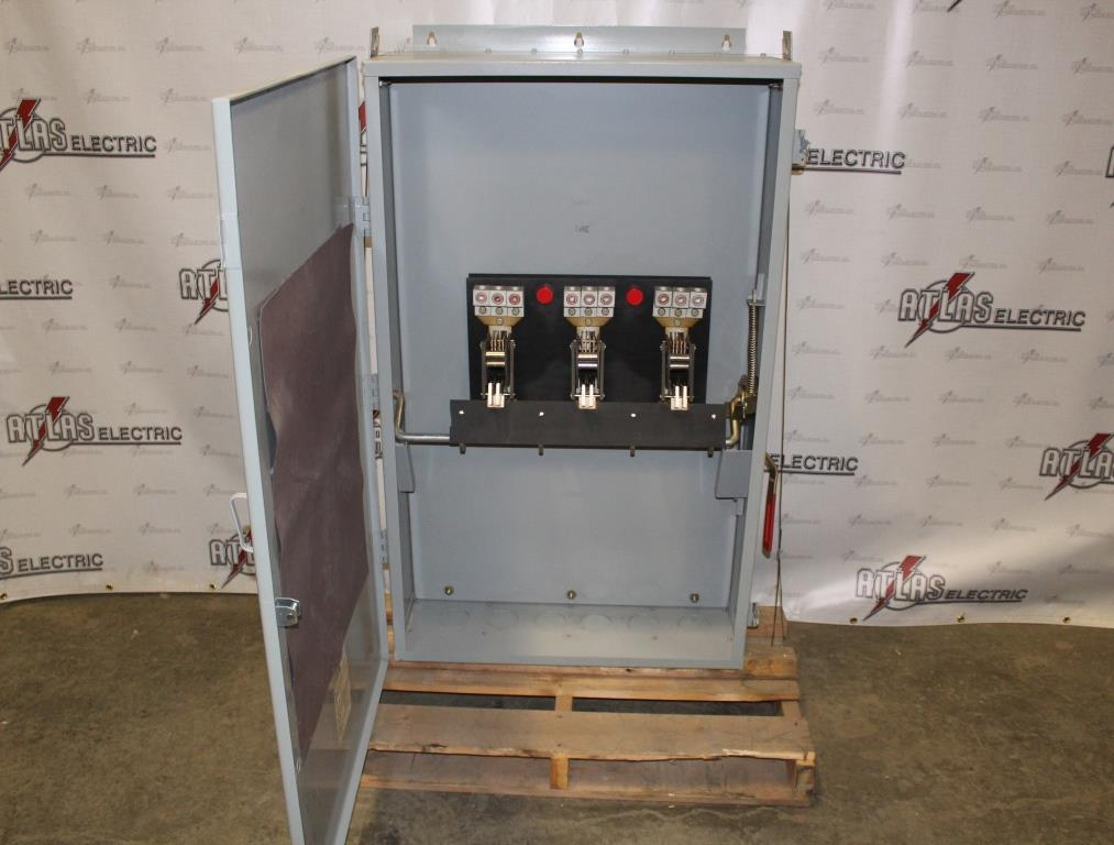 General Electric  800 Amp 3 Pole Non-Fusible Safety Switch TC36367 600 Volt N-1 Reconditioned