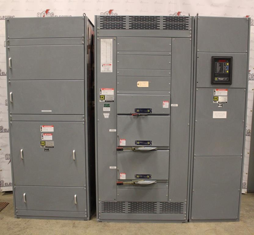 Square D QED PowerStyle Switchboard 1000 Amp 480Y/277 Volt Three Phase 4 Wire