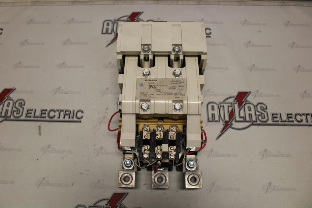 Westinghouse Size 5 FVNR Motor Starter Catalog Number A200M5CXXZ1