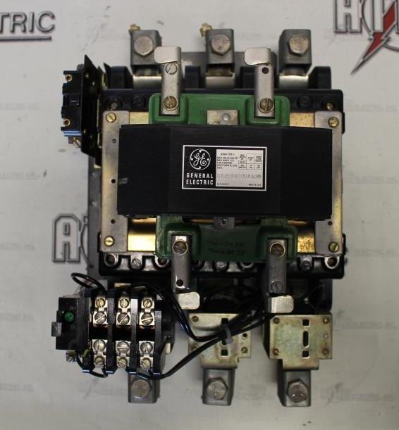 General Electric Size 5 FVNR Motor Starter Catalog Number CR2096000DDDD