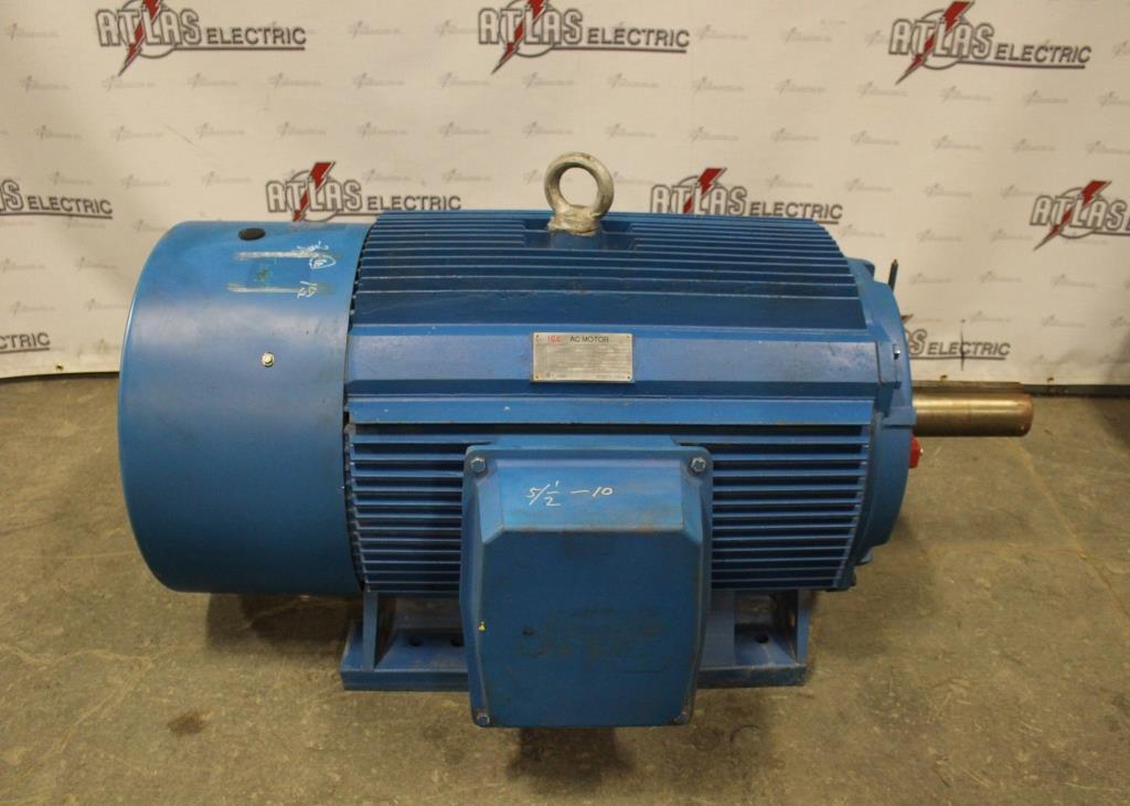 300.00 HP ICC Motor 1190 RPM 587/UZ Frame 460 Volt TEFC