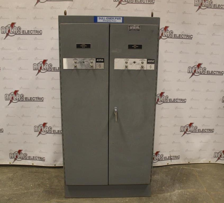 350 Amp ASCO Automatic Transfer Switch N12 Enclosure