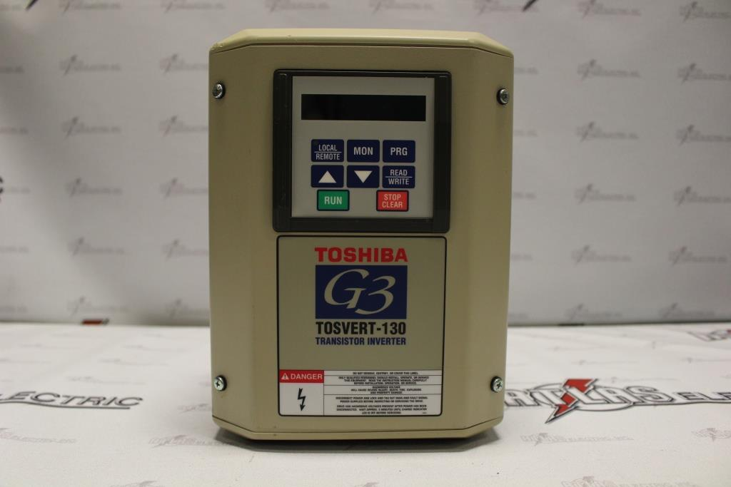 Toshiba Variable Frequency Drive Catalog Number VT130G3U4015 N-1 Enclosure