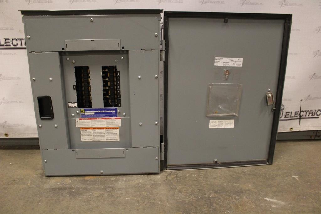 Square D  Low Voltage Panel Board NQ 100 Amp 240/120 Volt