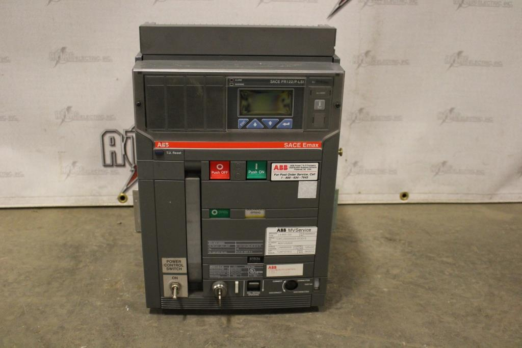 ABB Insulated Case Circuit Breaker Electric Operation 480 Volt