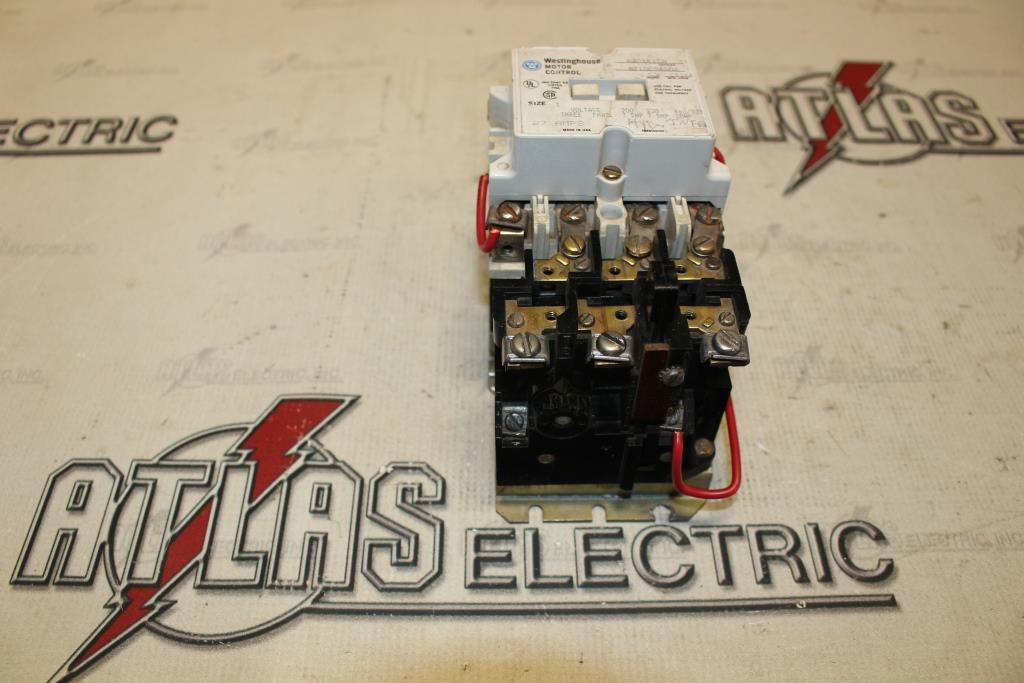 Westinghouse Size 1 FVNR Motor Starter Catalog Number A201K1CA