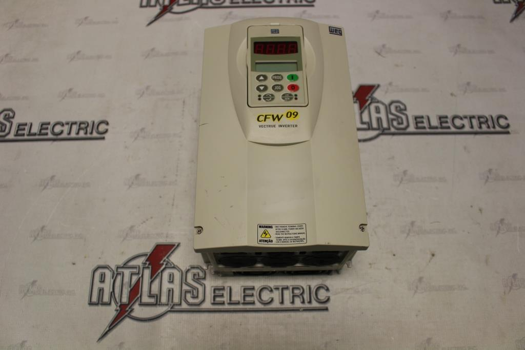 WEG Variable Frequency Drive Catalog Number USCFW090013T3848ESZ N-1 Enclosure