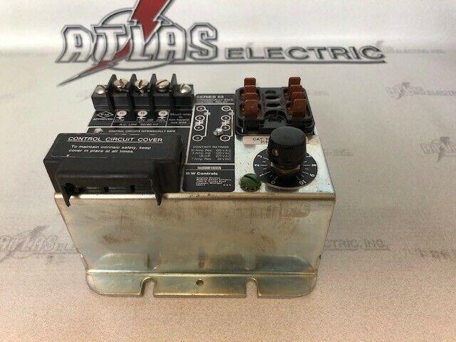 B/W CONTROLS 5300-S-V INTRINSICALLY SAFE CONTROL RELAY P/N 53-1210