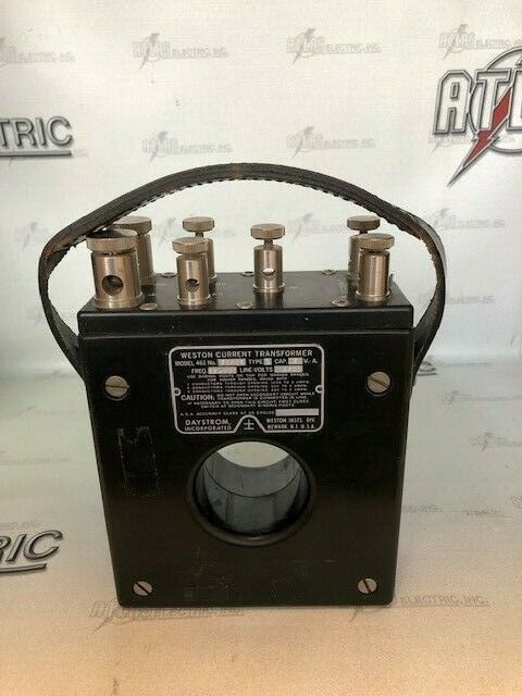 WESTON CURRENT TRANSFORMER MODEL 461 22552 TYPE 1 CAP-5VA