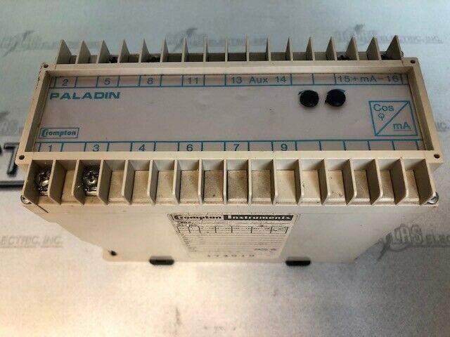 CROMPTON 256-TPTU TRANSDUCER 120V 5A 60HZ