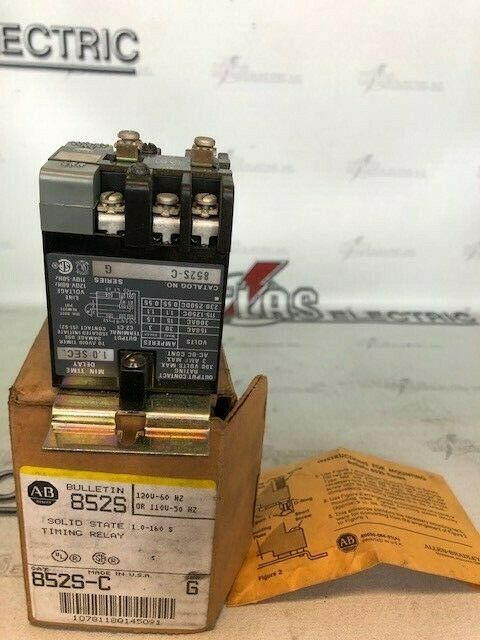 ALLEN BRADLEY 852S-C SOLID STATE TIMING RELAY