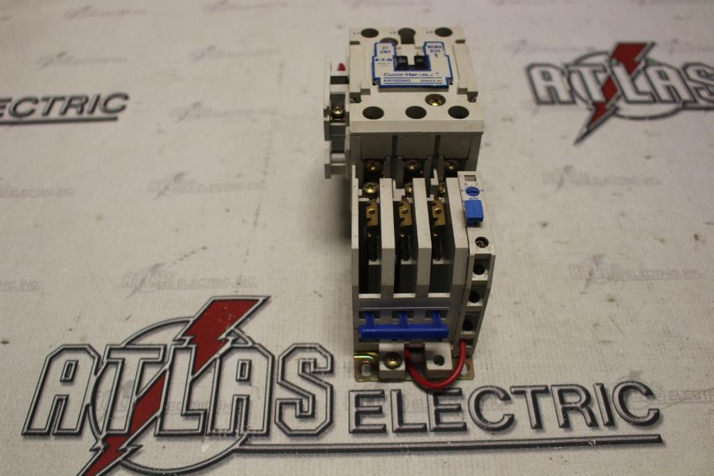 CUTLER HAMMER Size 1 FVNR Motor Starter Catalog Number AN16DNO