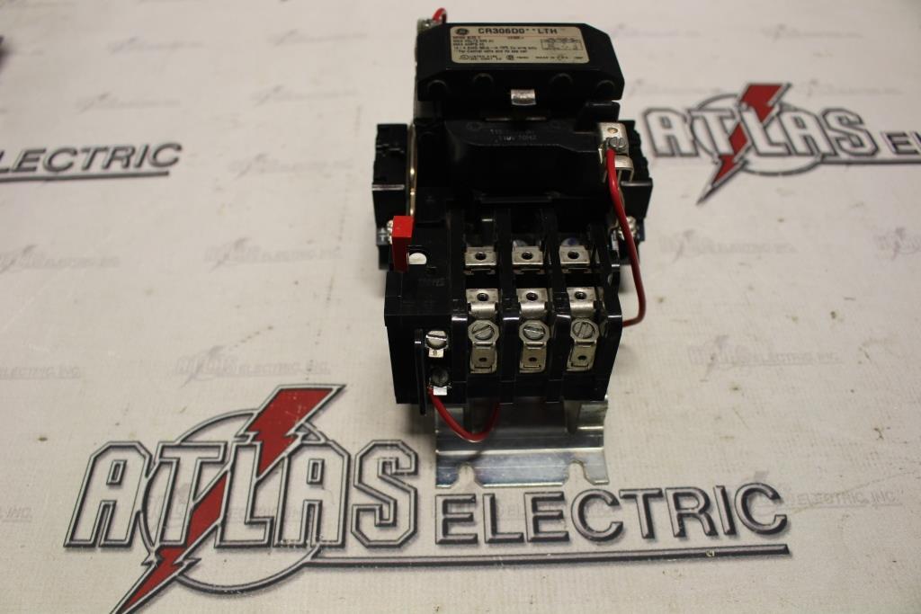 General Electric Size 2 FVNR Motor Starter Catalog Number CR306DO**LTH