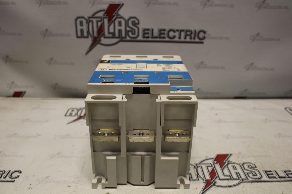Westinghouse Size 5 FVNR Motor Starter Catalog Number W200M5CFC 120 Volt Coil