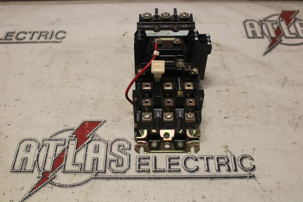 Allen Bradley Size 2 FVNR Motor Starter Catalog Number 409-B40ND 30HP at 480 Volt 120 Volt Coil