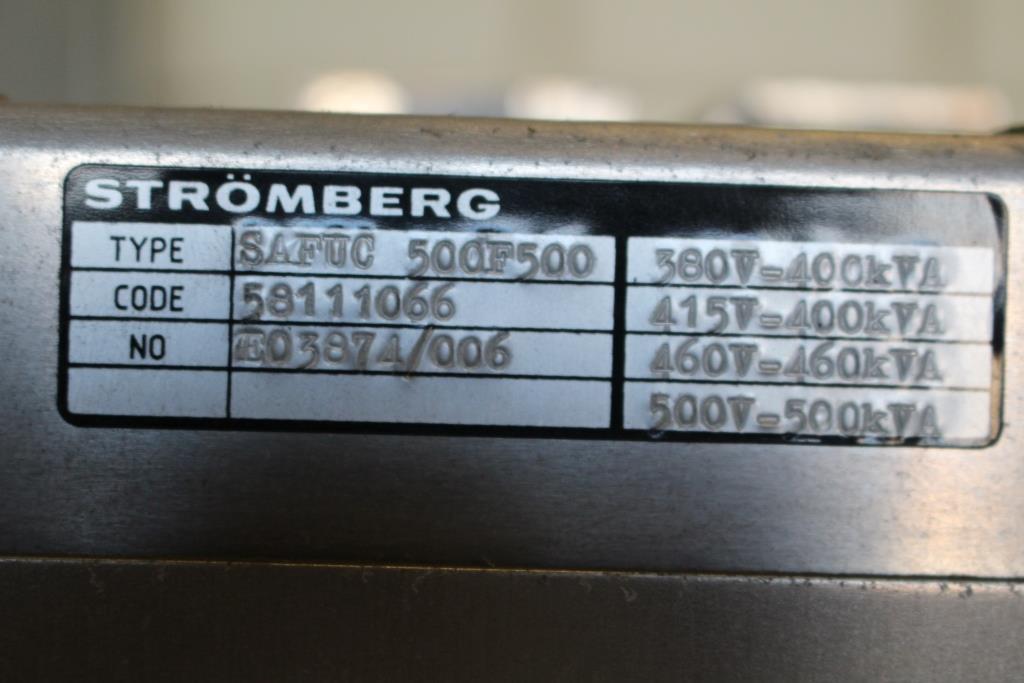 ABB STROMBERG DRIVES SAFUC500F500 380V-400KVA 415V-400KVA 460V-460KVA 500V-500KVA