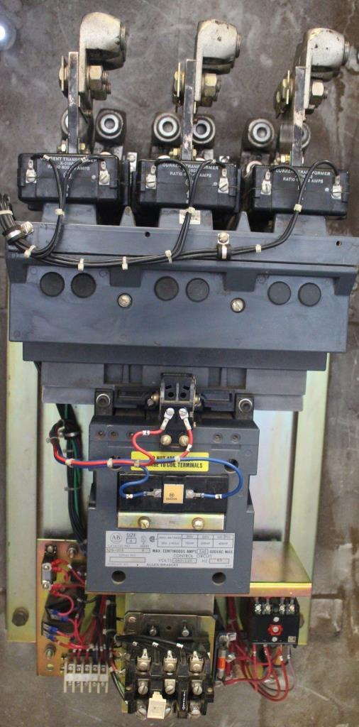 Allen Bradley Size 6 FVNR Motor Starter Catalog Number 509-GOB N1 Enclosure