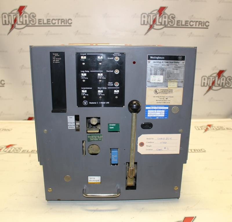 Westinghouse 1600 Amp DS-416 AMPTECTOR 1-A W/LSIG EO/DO  Used and Tested EOK